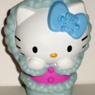 McDonald's 2011 Hello Kitty Winter Kitty Figure Only Happy Meal Toy Loose