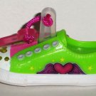 McDonald's 2011 Skechers Twinkle Toes Great Escapes Green Happy Meal Toy Loose Used