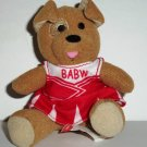 McDonald's 2009 Build-A-Bear Workshop Brown Sugar Puppy Happy Meal Toy w/ Outfit Loose Used
