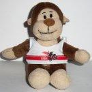McDonald's 2006 Build-A-Bear Workshop Marvelous Monkey Sports Tank Happy Meal Toy No Tag Loose