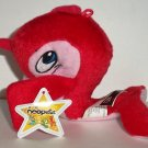 McDonald's 2005 Neopets Red Flotsam Happy Meal Toy w/ Damaged Swing Tag Loose Used