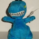 McDonald's 2005 Neopets Blue Grarrl Happy Meal Toy w/ Clip & Damaged Swing Tag Loose Used