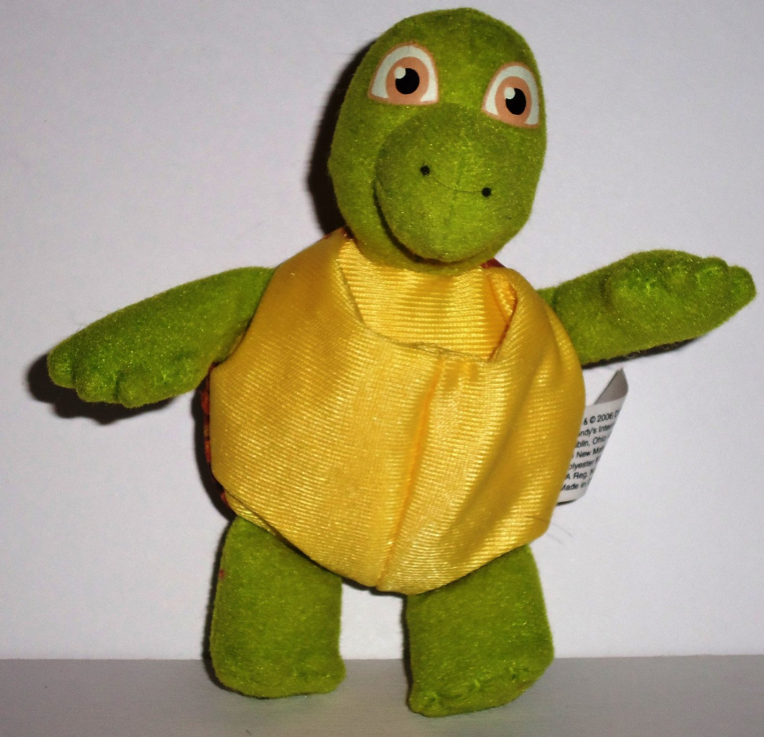 Uncategorized Verne The Turtle wendys 2006 over the hedge verne turtle soft kids meal toy loose used