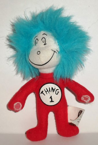 Kellogg S Dr Seuss Cat In The Hat Thing 1 Plush Toy Loose Used