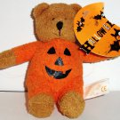 """Target Chamois Collection Halloween 4.5"""" Teddy Bear Plush Toy Loose Used"""