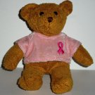 Avon 2001 Collectible Breast Cancer Crusade Bear No Swing Tag Loose Used