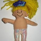 """Baby Gund 5"""" Blonde Haired GIrl Doll Loose Used"""