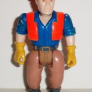 Little Tikes Construction Worker Action Figure Loose Used