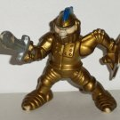 Fisher-Price Great Adventures Gold Knight w/ Sword Figure 1994 Heavy Wear Loose Used