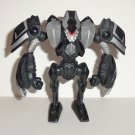 McDonald's 2011 Bakugan Silent Strike Black & Silver Figure Happy Meal Toy  Loose Used