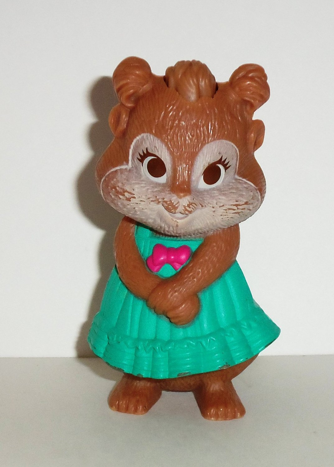 Mcdonald S 2010 Alvin And The Chipmunks The Squeakquel Eleanor Happy Meal Toy Loose Used