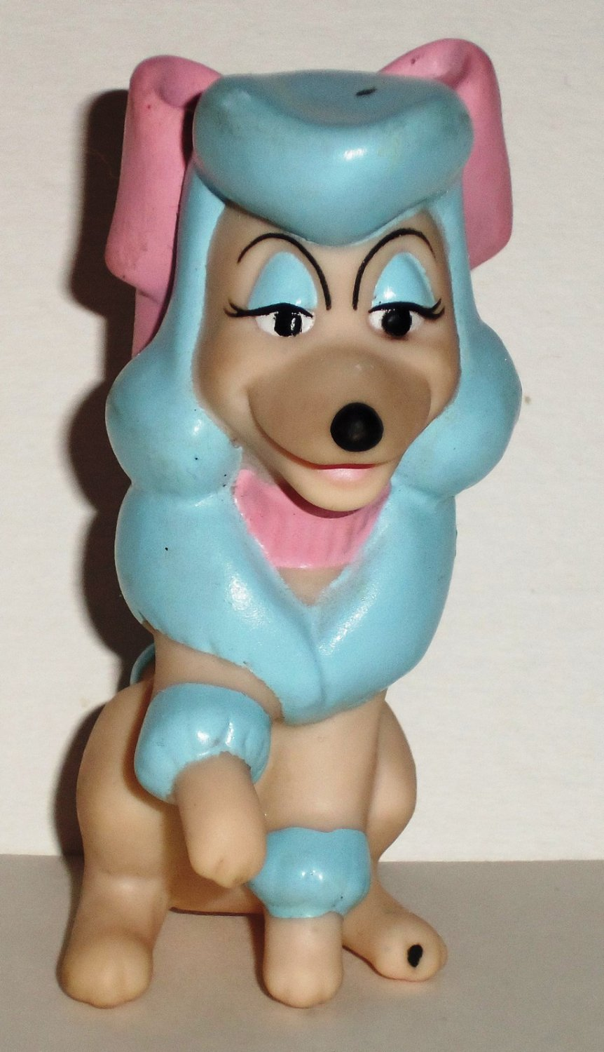 McDonald's 1988 Walt Disney Oliver & Company Georgette Dog Finger Puppet Happy Meal Toy Loose Used