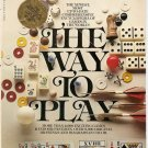 The Way to Play by Diagram Group Staff Paperback Book Bantam 1977 Games Used
