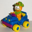 McDonald's 1988 Garfield in 4-Wheeler Car Happy Meal Toy Cat Loose Used