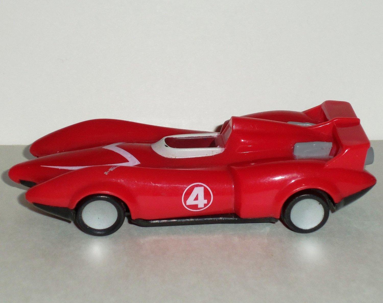 mcdonalds 2008 speed racer rex racers mach 4 car happy