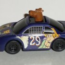 Burger King 1997 Cartoon Network Wacky Racing Scooby-Doo Car Kids Meal Toy Loose Used