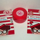 Wendy's 2010 Where's Waldo Timer and Game Cards Kids Meal Toy Loose Used