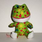 McDonald's 2012 Build-A-Bear Workshop Friendly Sweetheart Frog Happy Meal Toy Loose Used