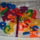 Plastic Magnetic Numbers & Symbols 36 ct. New in Package