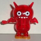 Uglydoll Wind Up Red Ice-Bat Walking Plastic Toy Loose Used
