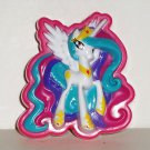 My Little Pony Stuck on Stories Suction Cup Ponies Princess Celestia Loose Used