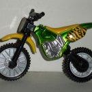 Wendy's 2003 Motocross Green Motorcycle Moto Cross Loose Used
