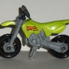 McDonald's 2000 Hot Wheels Green Motorcycle Happy Meal Toy Loose Used