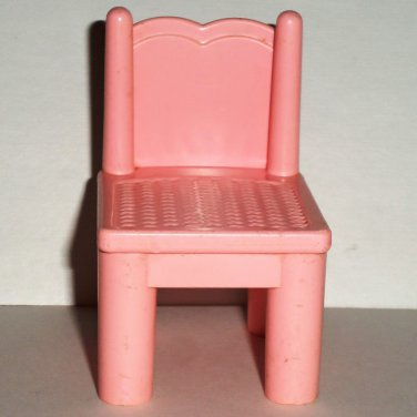 Phenomenal Playskool Dollhouse Pink Chair M6095 Loose Used Gmtry Best Dining Table And Chair Ideas Images Gmtryco