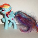 McDonald's 2011 My Little Pony Rainbow Dash Happy Meal Toy Hasbro Loose Used