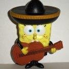 Burger King 2005 SpongeBob Squarepants Mariachi Spongebob Kids' Meal Toy Loose Used