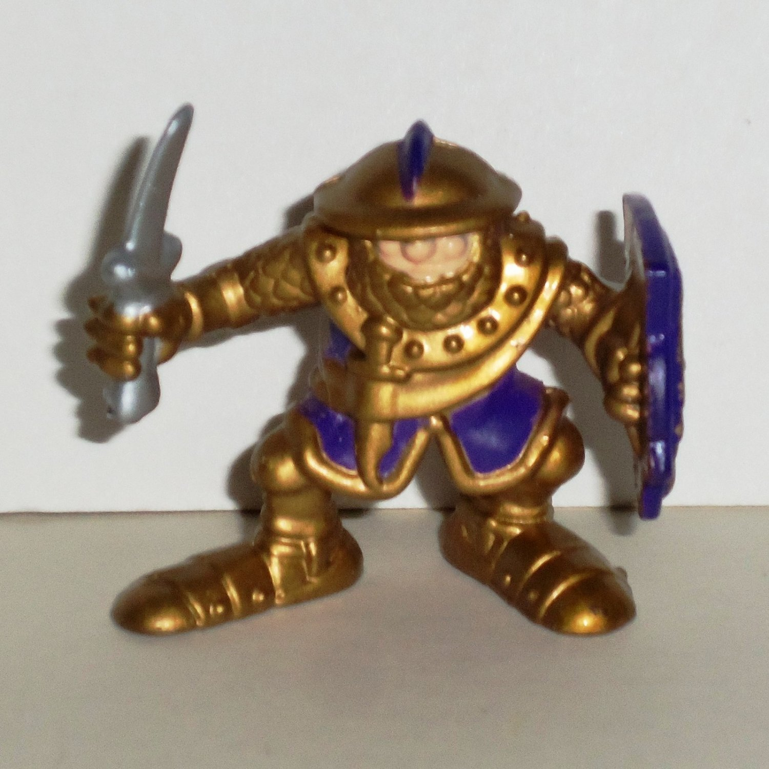 Fisher-Price 1998 Great Adventures Gold Knight Figure from All-in-One Castle Loose Used