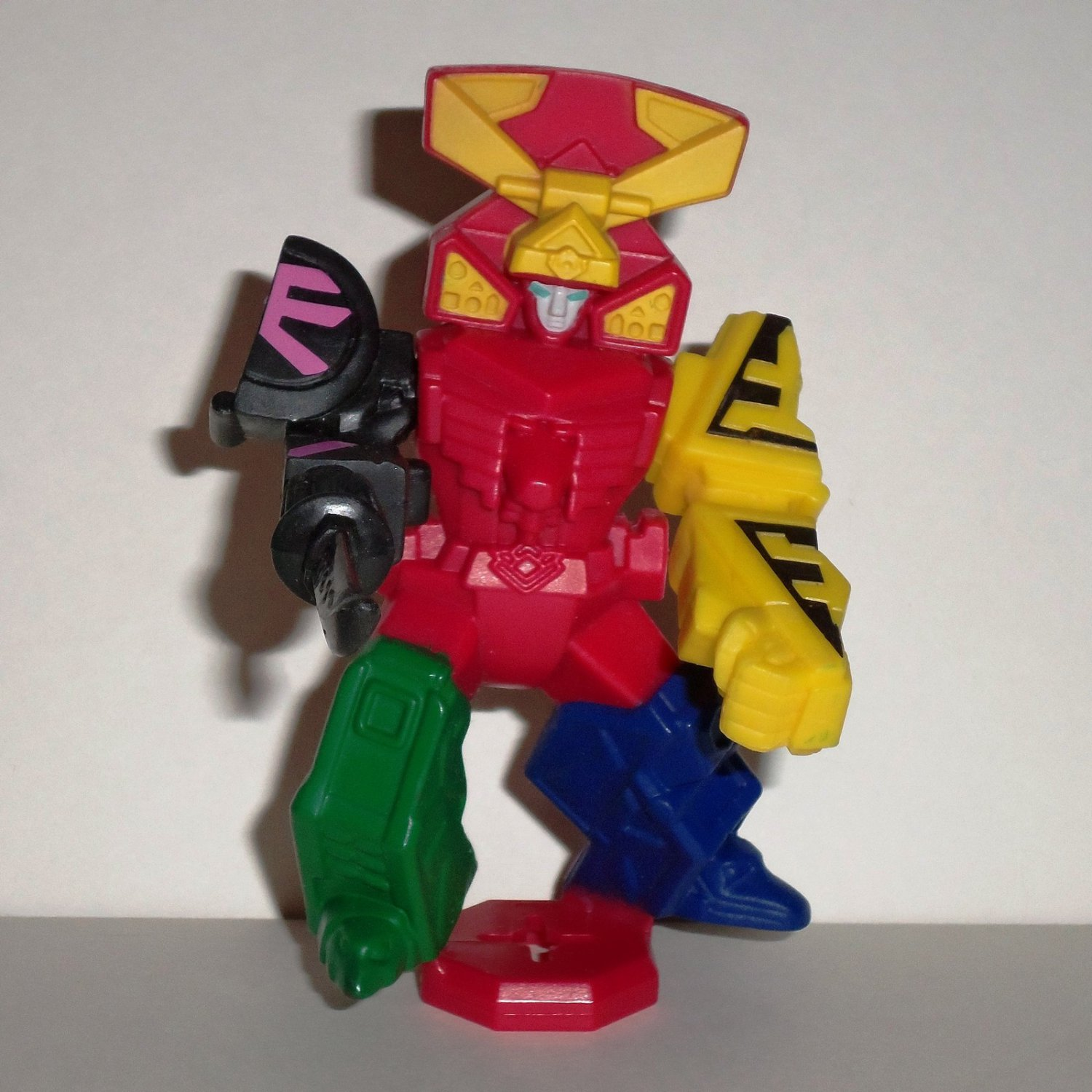 McDonald's 2011 Power Rangers Samurai Megazord without Base Happy Meal Toy Loose Used