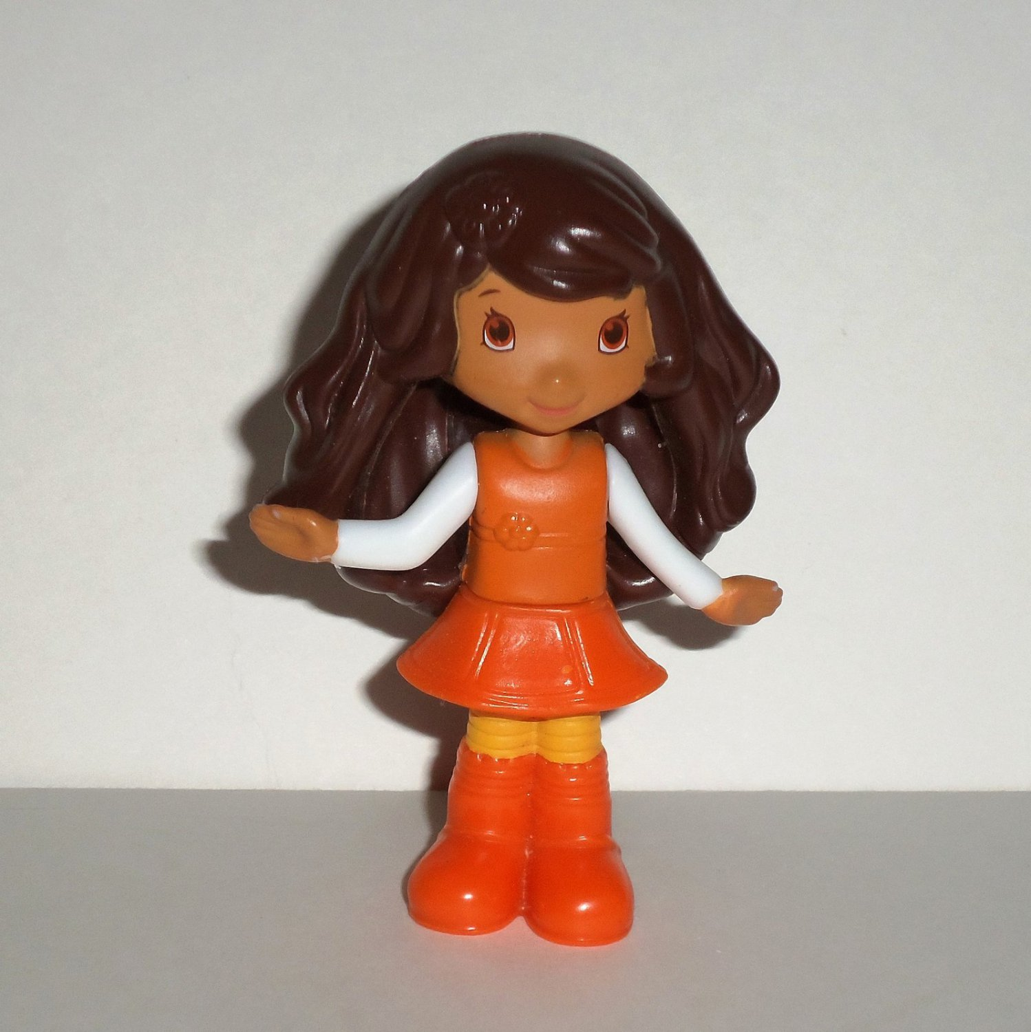 McDonald's 2010 Strawberry Shortcake Orange Blossom Doll Happy Meal Toy Loose Used
