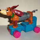 McDonald's 1999 Toy Story 2 Slinky Dog Happy Meal Toy Loose Used