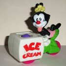 McDonald's 1994 Animaniacs Dot's Ice Cream Wagon Happy Meal Toy Loose Used