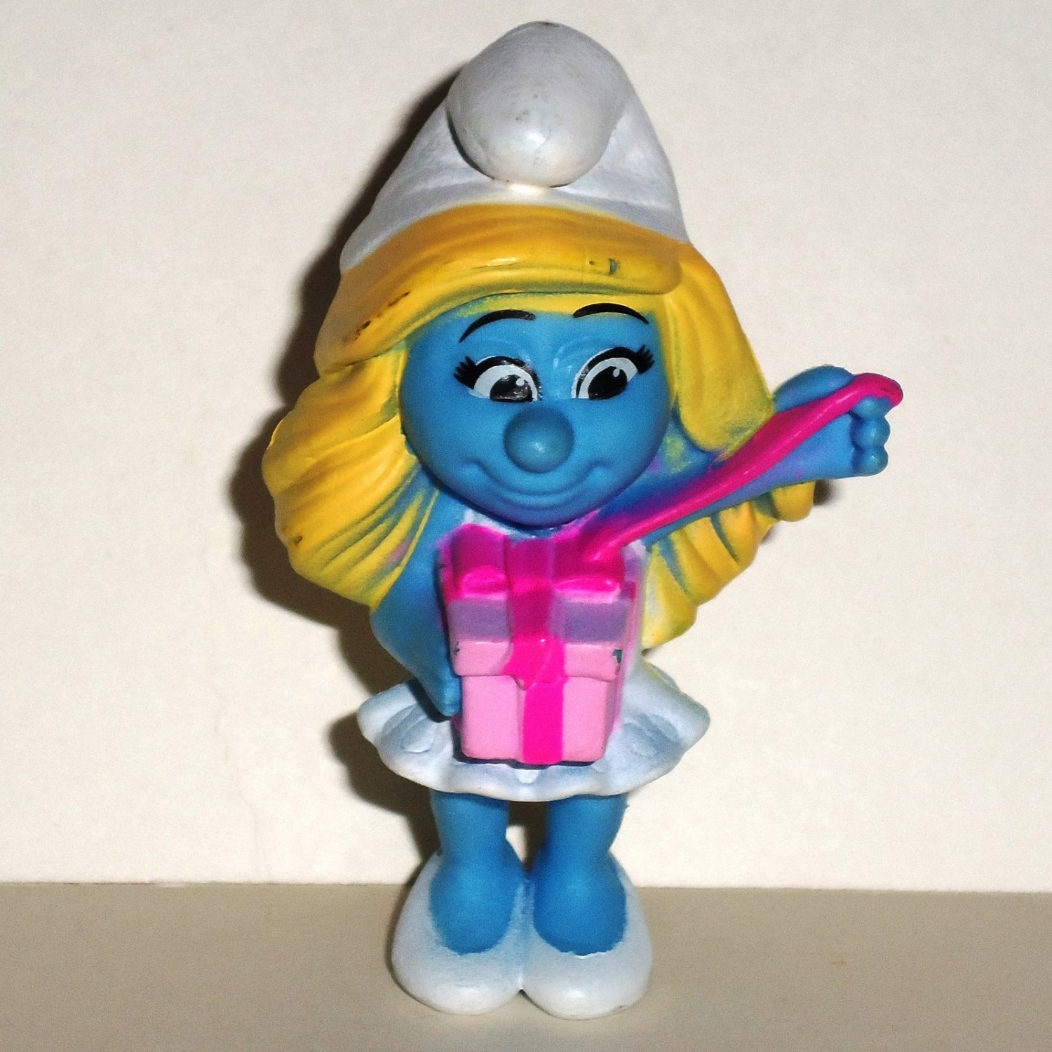 Mcdonald S Happy Meal Toys 2013 : Mcdonald s smurfs smurfette birthday pvc figure