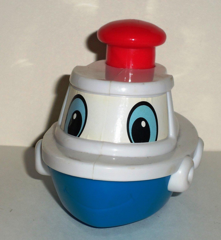 Wendy's 2007 Tugboat U3 Kids' Meal Toy Loose Used