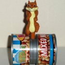 Wendy's 2006 Over the Hedge Hammy Squirrel Mixed Nuts Can Kids' Meal Toy Loose Used
