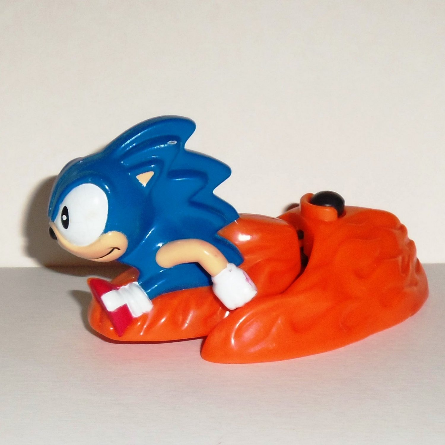 Kids Play With Sonic Exe Toys And Super Sonic Exe Toys: McDonald's 1994 Sonic The Hedgehog Happy Meal Toy Loose Used