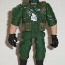 Special Ops Soldier in Green Uniform Action Figure Loose Used
