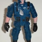 Special Ops Soldier in Blue Uniform Action Figure Loose Used