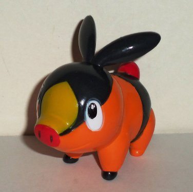 Bakery Crafts 2012 Pokemon Tepig Cake Topper Figure Loose Used