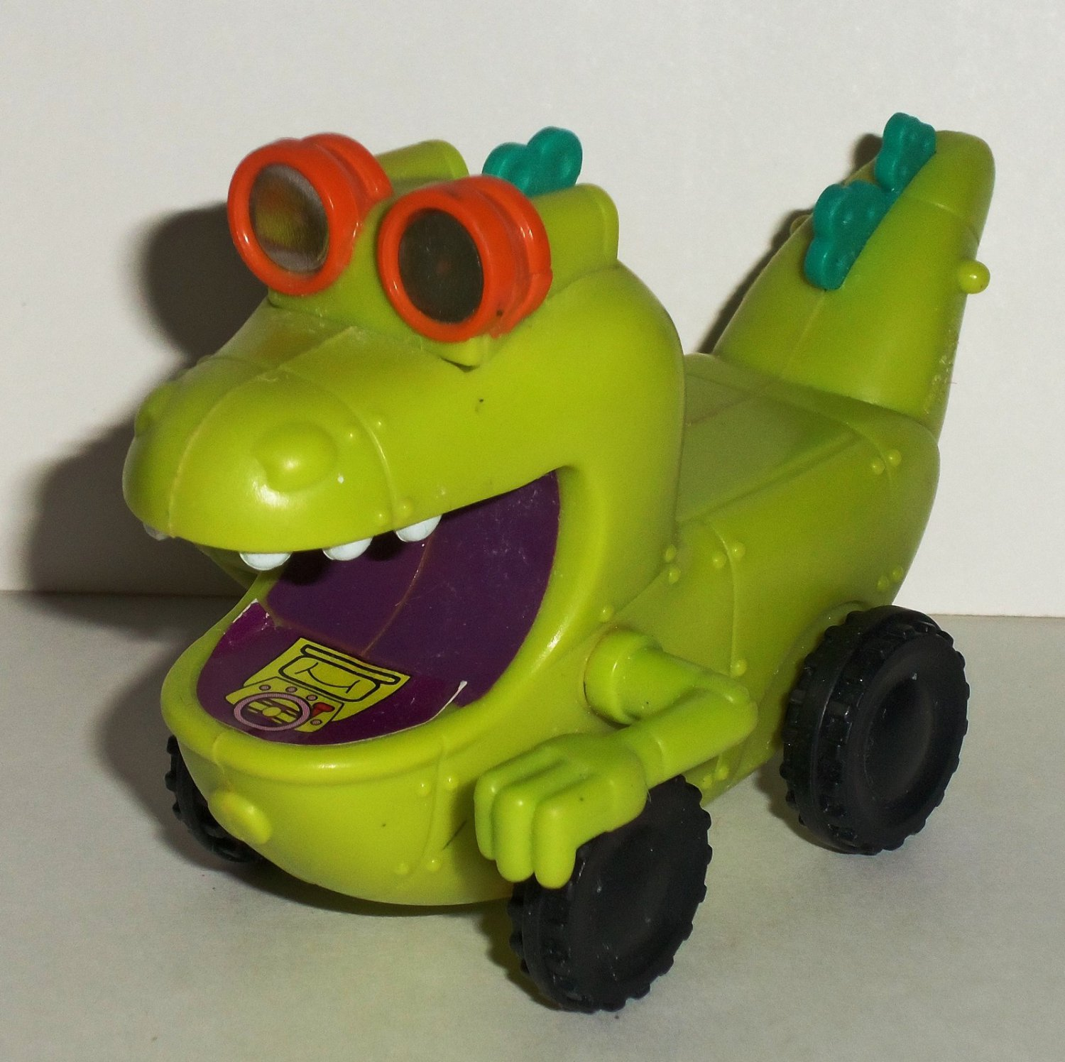 Burger King 1998 Rugrats Movie Reptar Wagon Kids Meal Toy