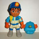 Fisher-Price Go Diego Go Cave Extreme Rescue Figure w/ Backpack Mattel 2010 Loose Used