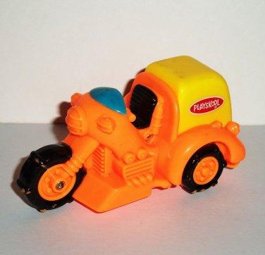 Wendy's Playskool 3 Wheeler Motorcycle U3 Trike Kids Meal Toy Loose Used