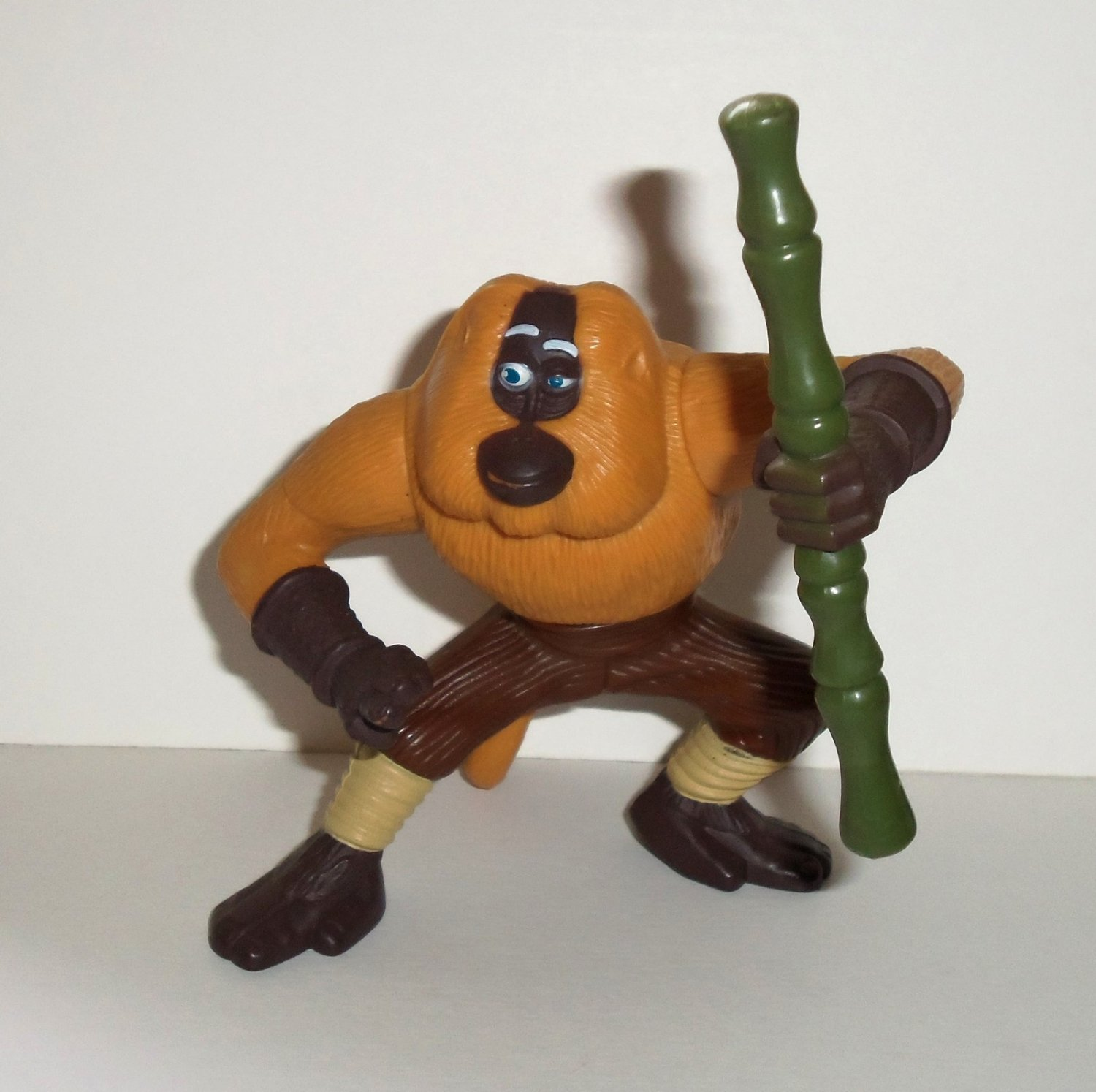 McDonald's 2008 Kung Fu Panda Master Monkey Happy Meal Toy ...