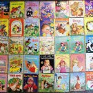 Little Golden Book Lot of 35 Kids' Books Bugs Bunny Barbie Three Bears Heidi More Used
