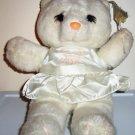 House Of Lloyd 1988 White Angel Teddy Bear Loose Used