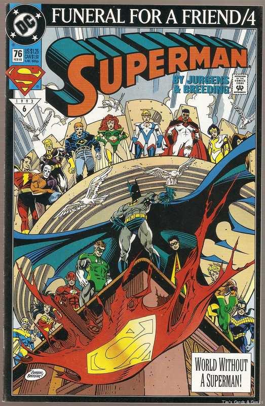 Superman (1987) #76 DC Comics Feb. 1993 NM