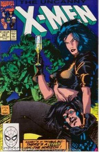 Uncanny X-Men #267 Marvel Comics Sept 1990 FN/VF